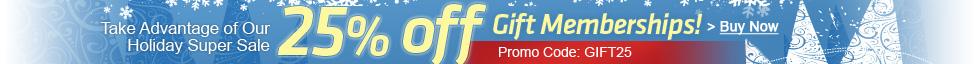 Booksfree Gift Membership Sale